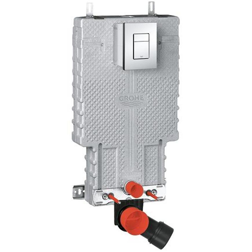 Podomítkový set WC Grohe 2v1 UNISET pro zděné konstrukce s ovládacím tlačítkem