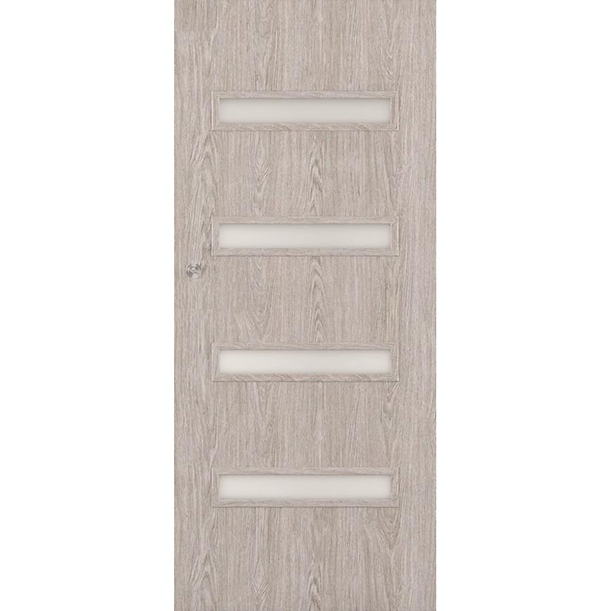 Posuvné dveře Verona 4*4 90P dub stříbrný