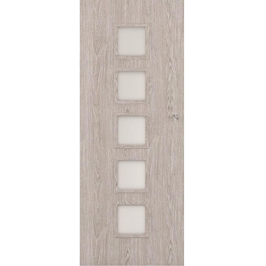 Posuvné dveře Vedi 5*5 60L dub stříbrný