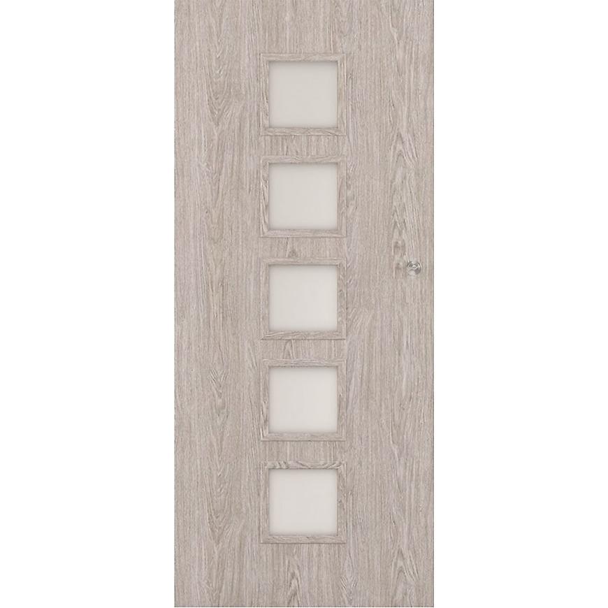 Posuvné dveře Vedi 5*5 90L dub stříbrný