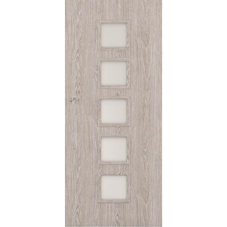 Posuvné dveře Vedi 5*5 90P dub stříbrný