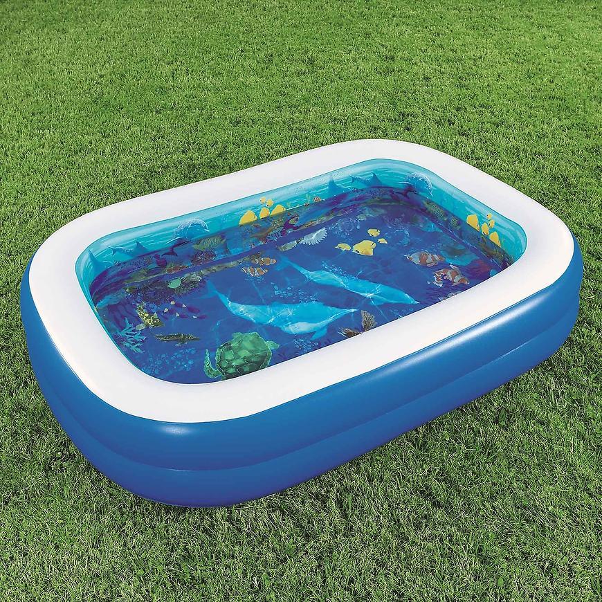 Bazén 3d podmořský svět 262cmx175cmx51cm  54177