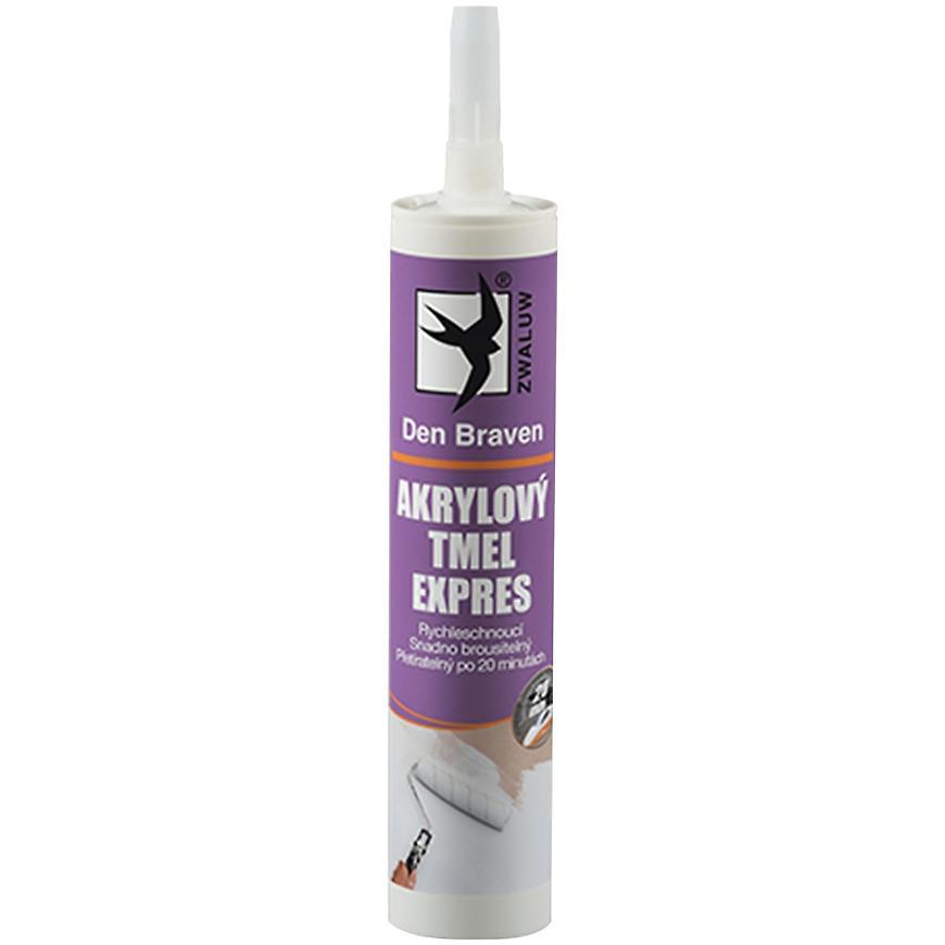 Akrylový tmel Den Braven expres 310 ml bílý