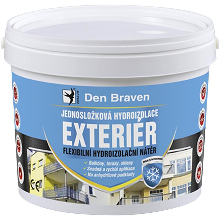 Jednosložková hydroizolace Den Braven exteriér 5 kg