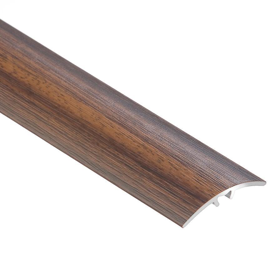 Krycí lišta narážecí 30x5mm 0.9m teak