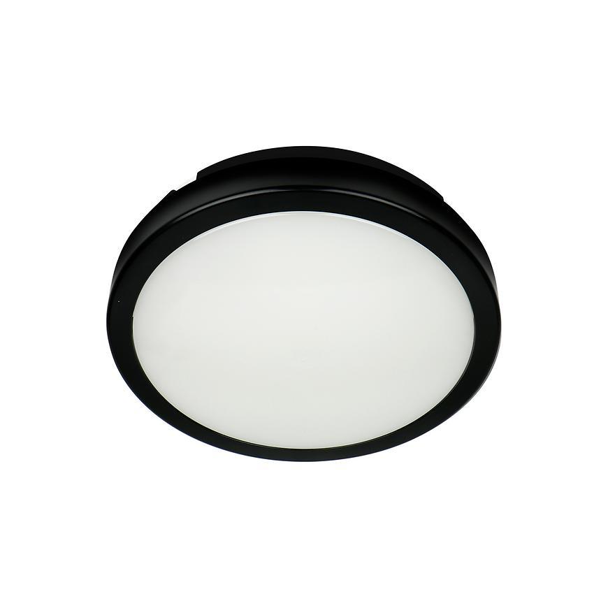 Stropne Svítidlo Ac170-250v Cierny Ip65 3000k Pl1