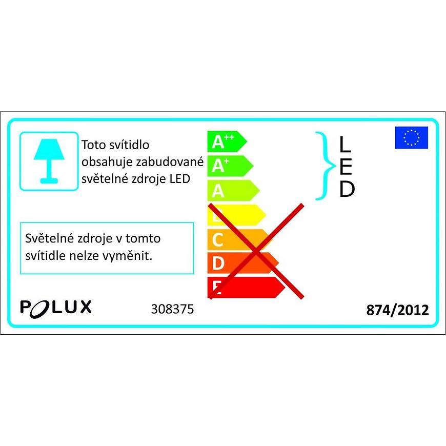 Nástěnné Světlo Capri Led 308375 Cerna K1