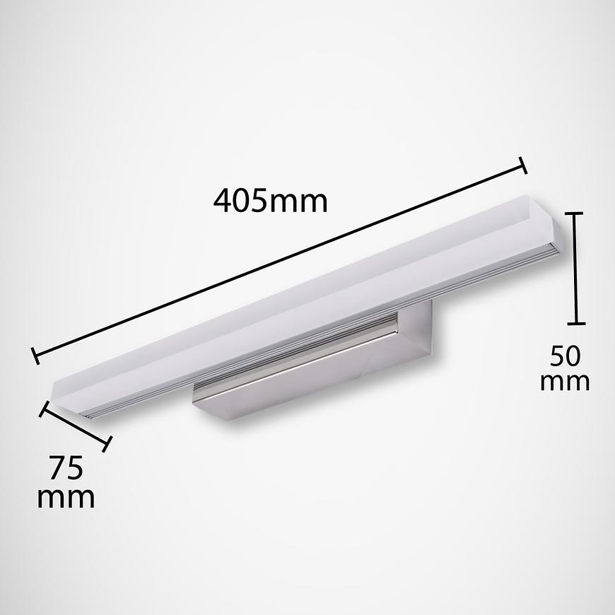 Podhledové Svítidlo-Koupelna Rumba Led 9W CHR 4000K