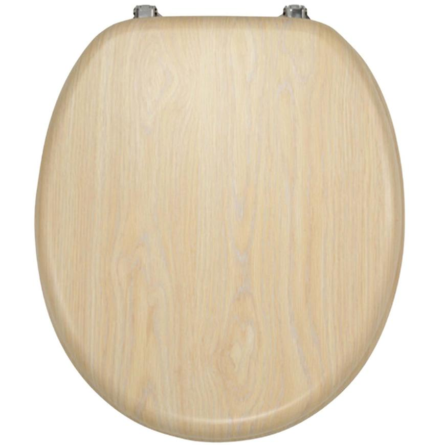 Sedátko dýhované dřevo WC/BRIZA