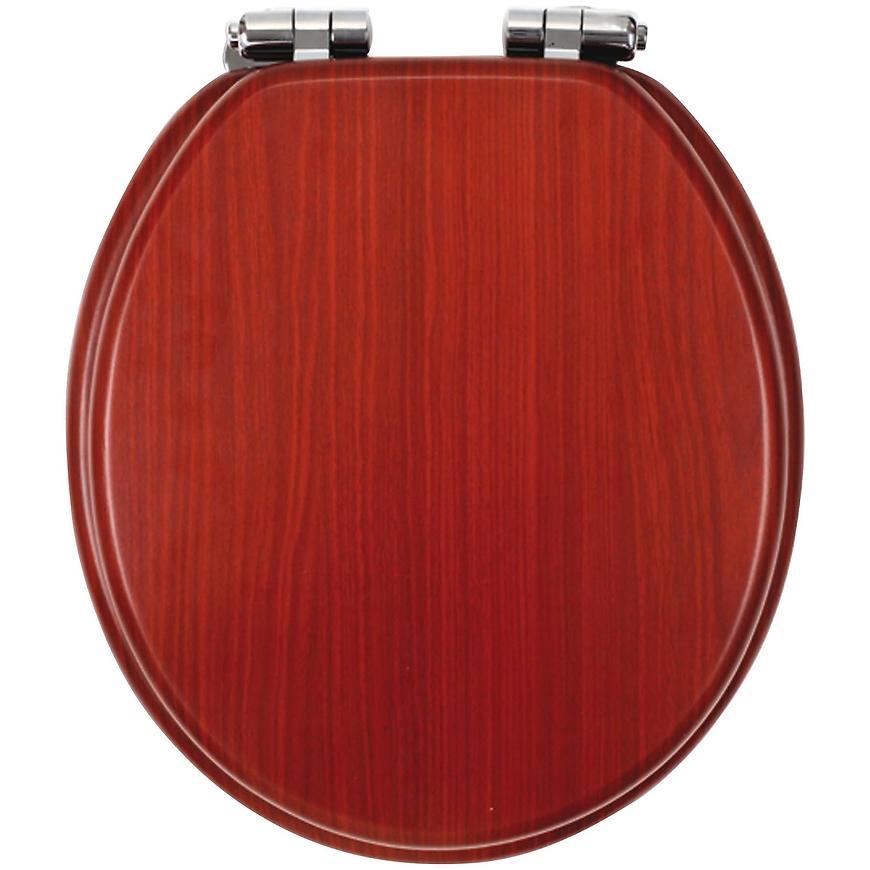 Sedátko tvarované dřevo LYRA WC/SOFTORECHLY