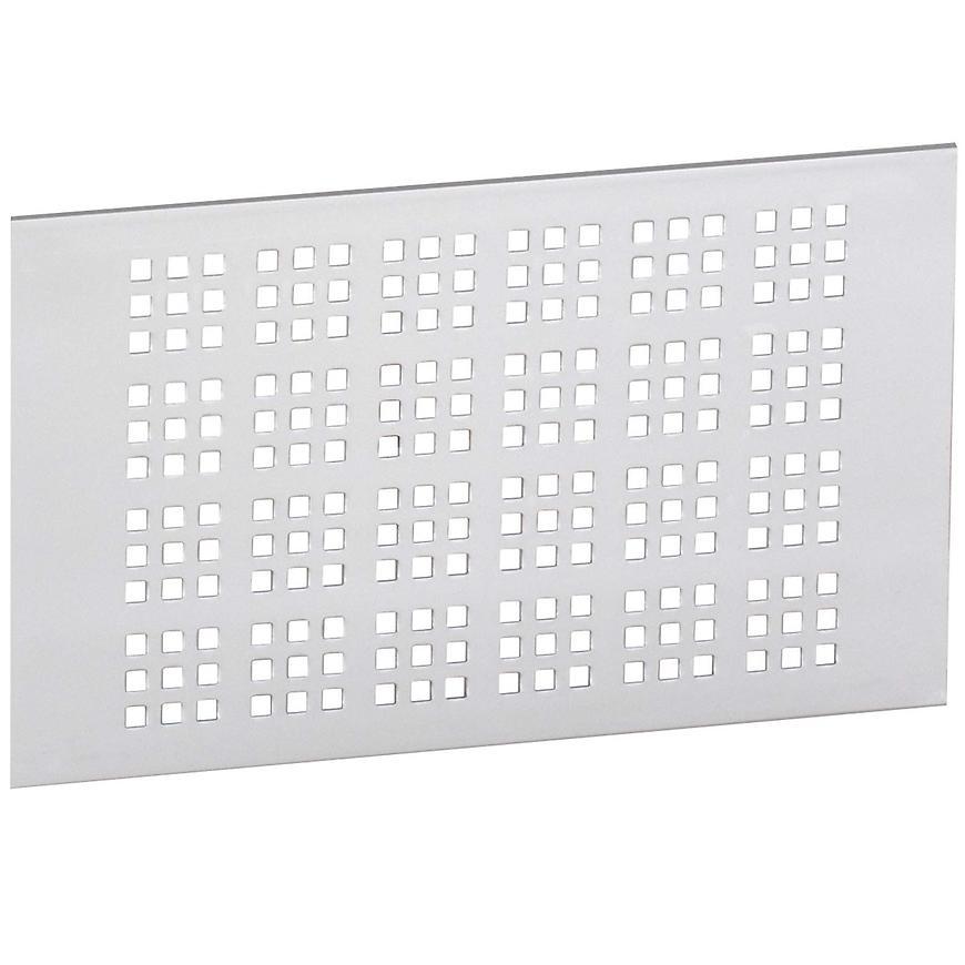 Ventilační mřížka 120x200mm, AL, Elox Hliník