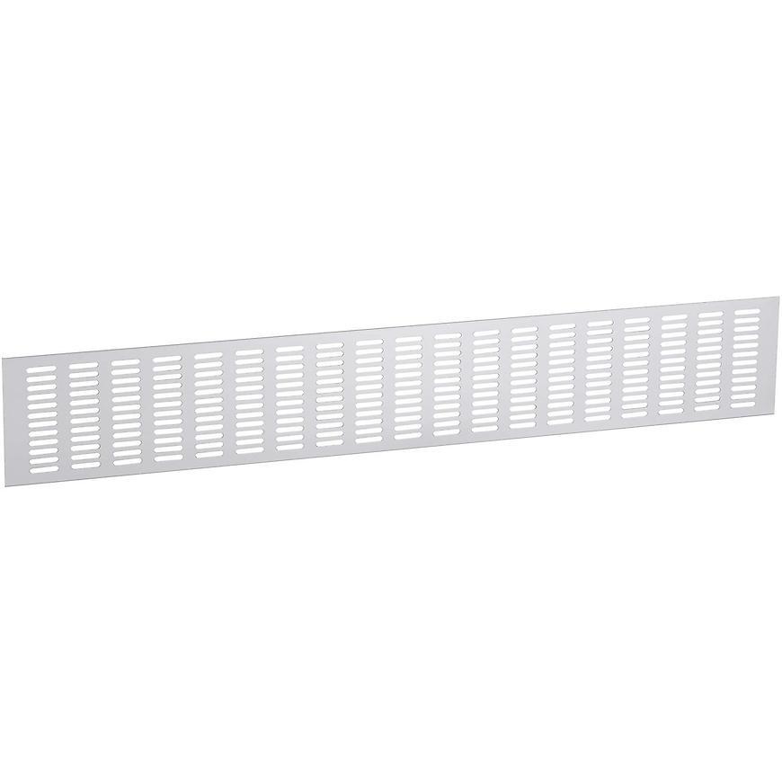 Ventilační mřížka 120x763mm, AL, Elox Hliník