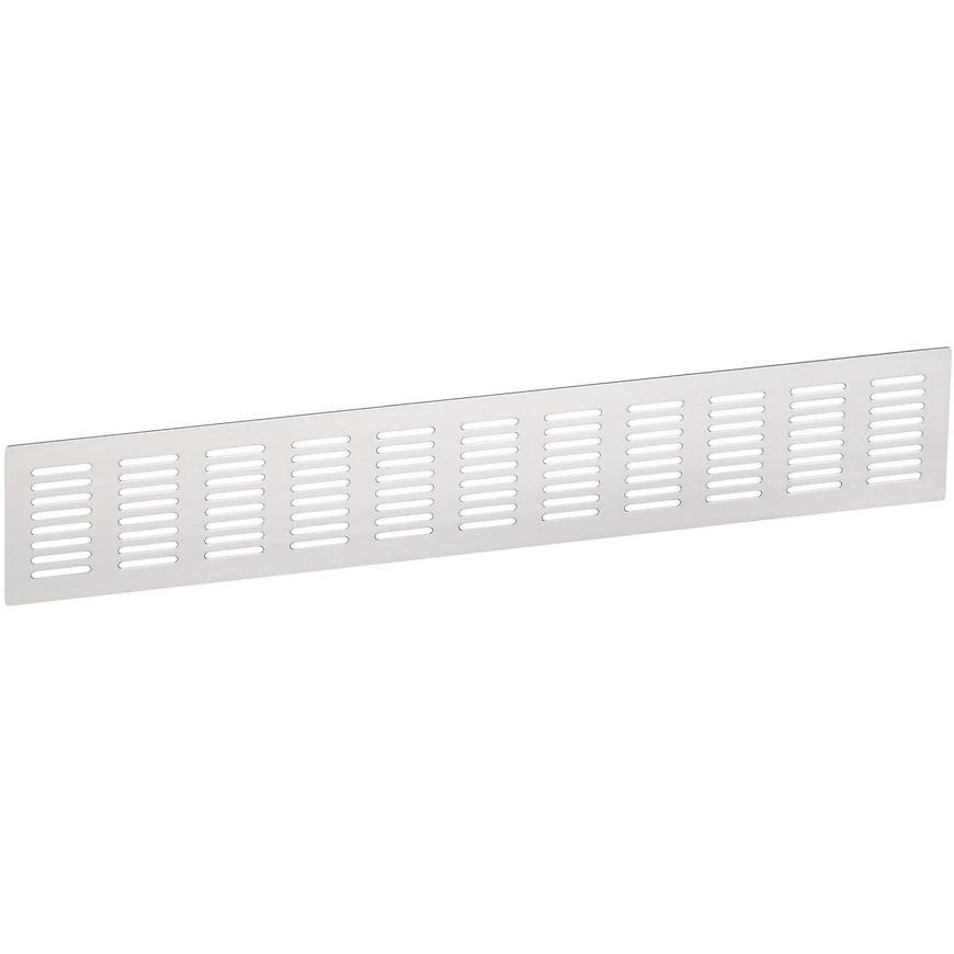 Ventilační mřížka 70x423mm, AL, Elox Hliník