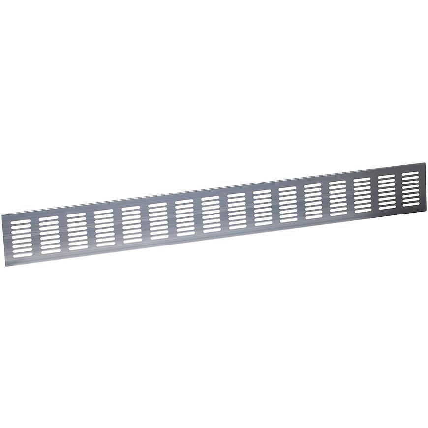 Ventilační mřížka 70x610mm, Nerez