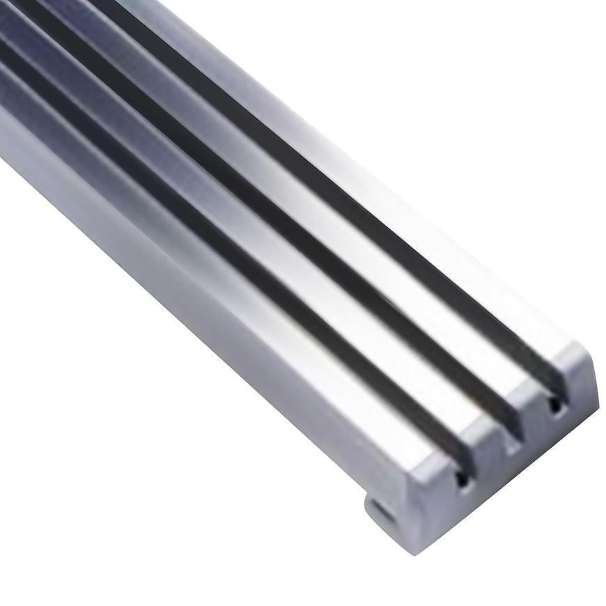 Ventilační mřížka design 60x423mm, AL, Elox Hliník