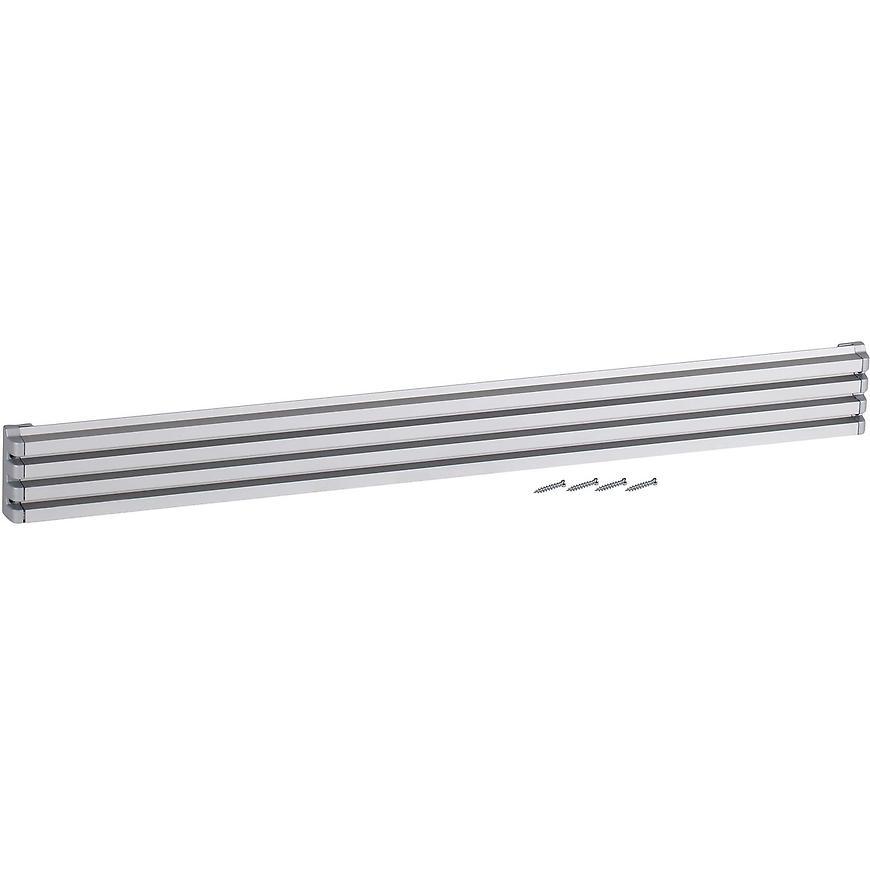 Ventilační mřížka design 60x610mm, AL, Elox Hliník