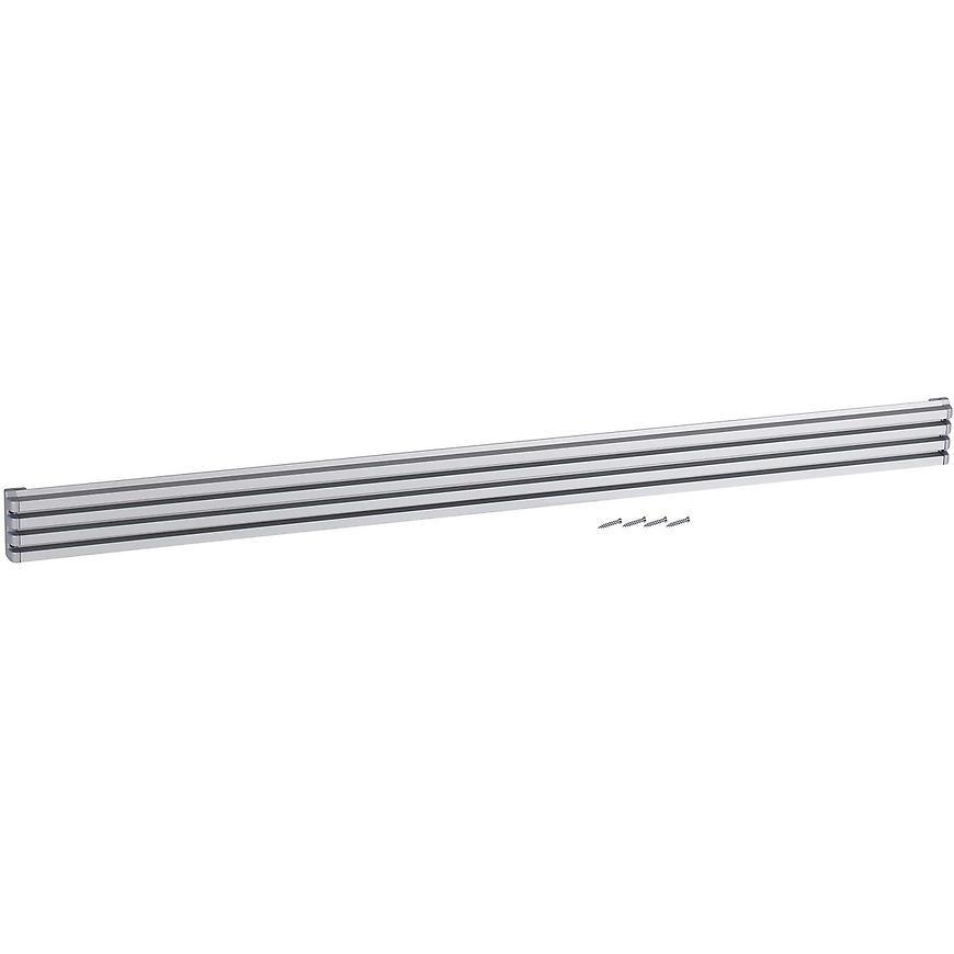 Ventilační mřížka design 60x900mm, AL, Elox Hliník