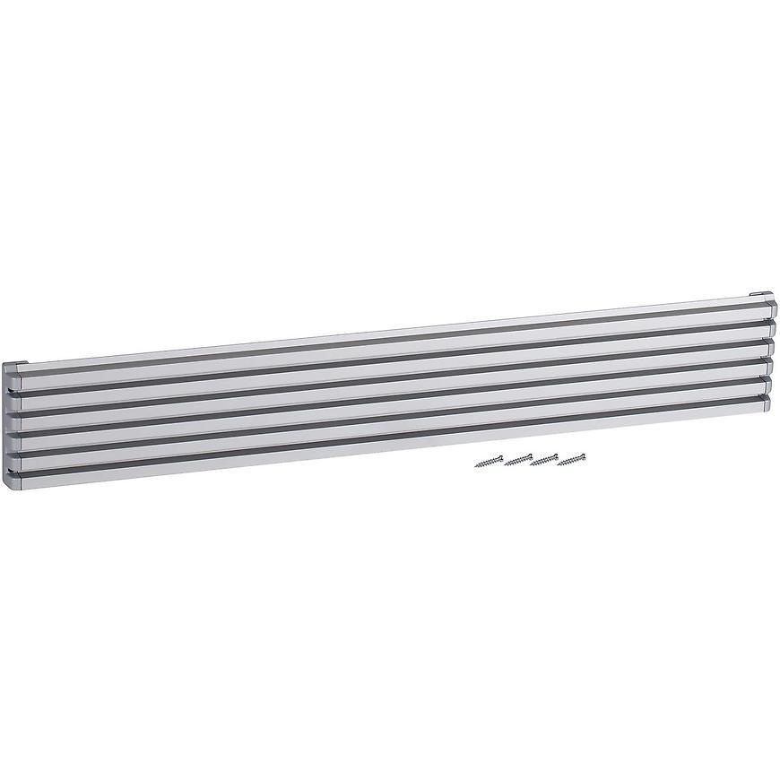 Ventilační mřížka design 90x610mm, AL, Elox Hliník