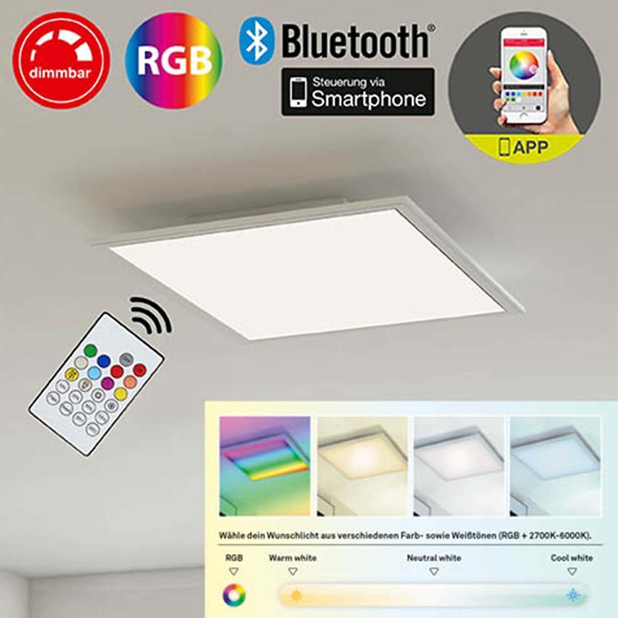 Panel RGB-LED 3021-016 60X60 + pilot + APP
