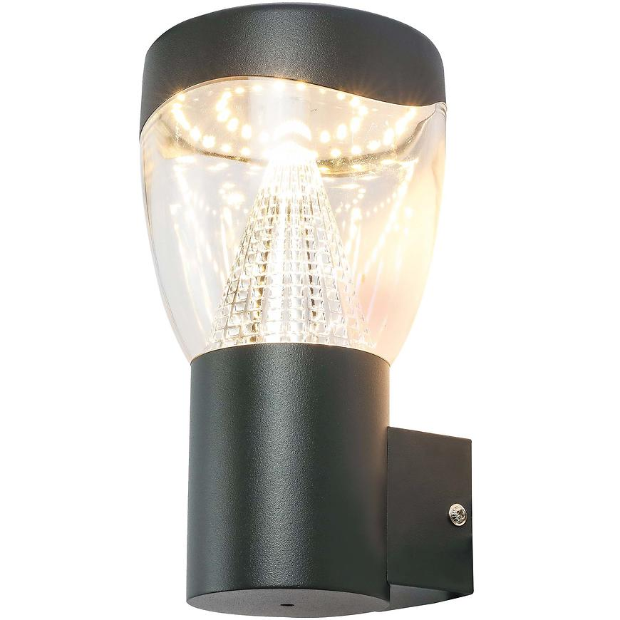Levně Zahradní svítidlo 34585 černé LED IP44 KGD1