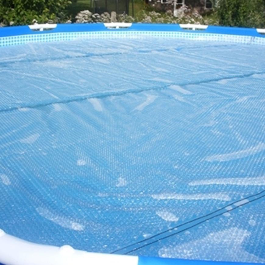 Plachta solární kruh 3,66 m, modrá