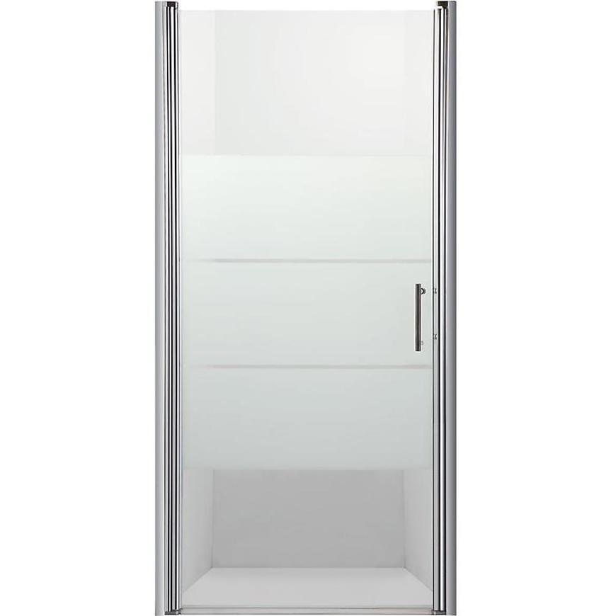 Sprchové Dvere Samos 80x190 S Potlačo-Chrom