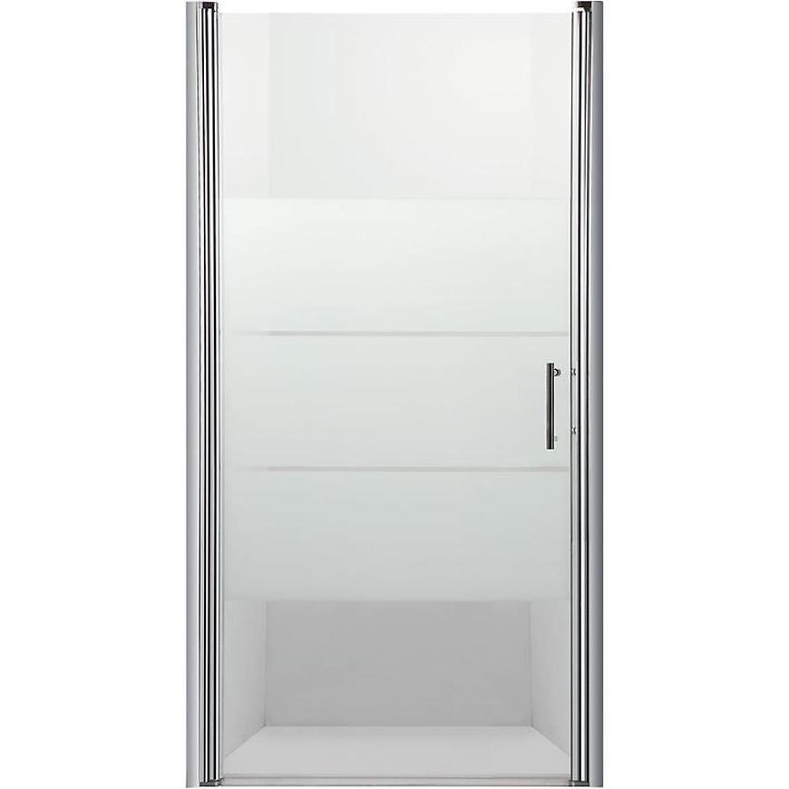 Sprchové Dvere Samos 90x190 S Potlačo-Chrom