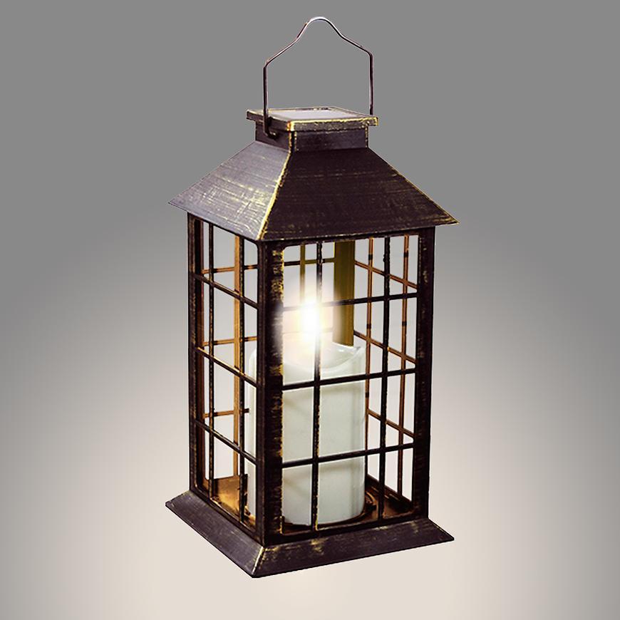 Svietidlo solar lucerna patina