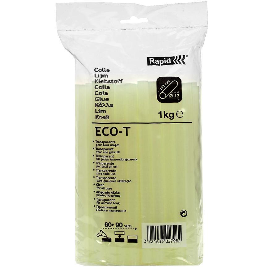 Tavné lepící tyčinky ECO-T 12x190 mm transparent