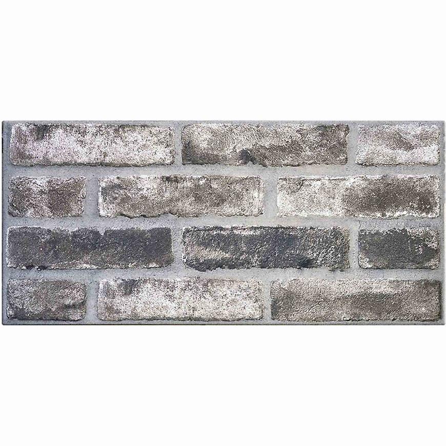 Nástěnný obklad mrazuvzdorný Brick grey 31/62