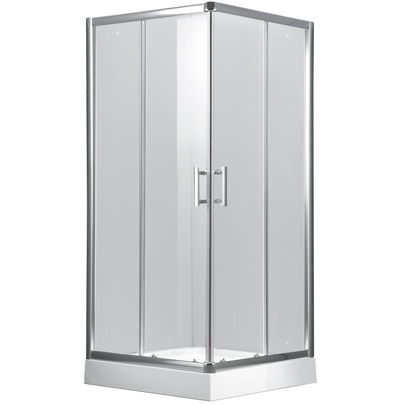 Sprchový kout čtvercový aulus 100/100/185 čiré