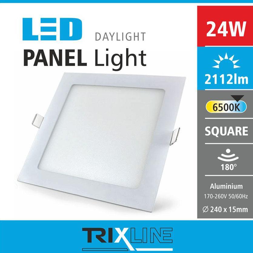 Svítidlo 24W square CW 6500k