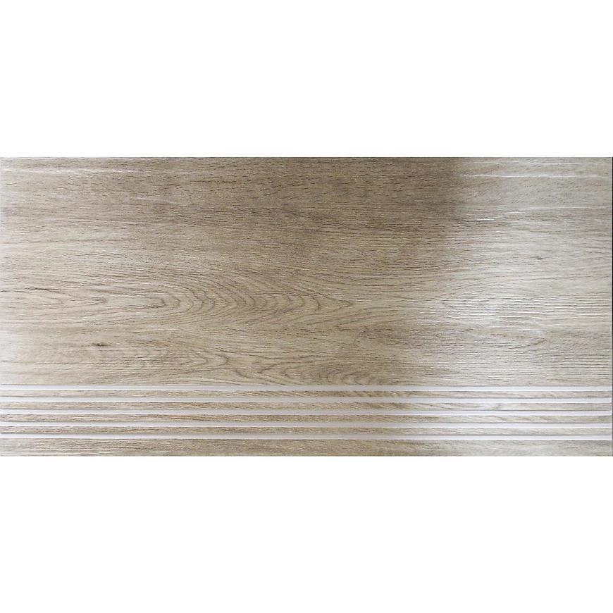 Dlažba schodová Barcelona Wood beige 30,7/60,7