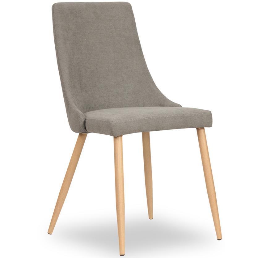 Židle Fiona šedá