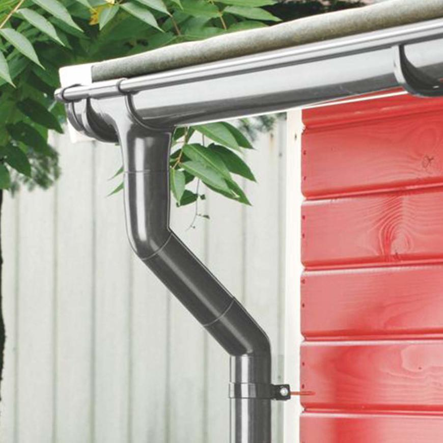 Sběrač dešťové vody  dn 105  antracit