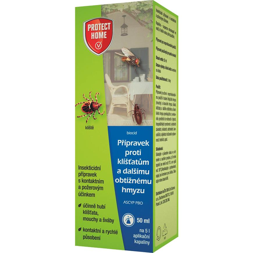 Protect home - klíšćata  50ml