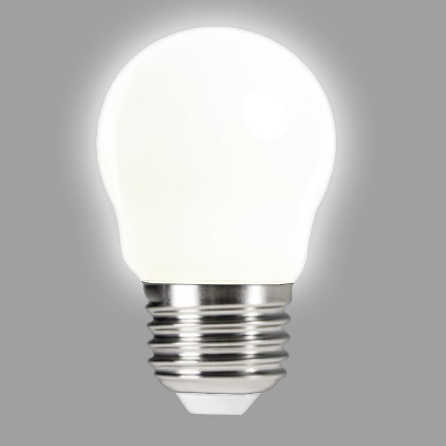 Žárovka LED EM 6W G45 E27 2700K