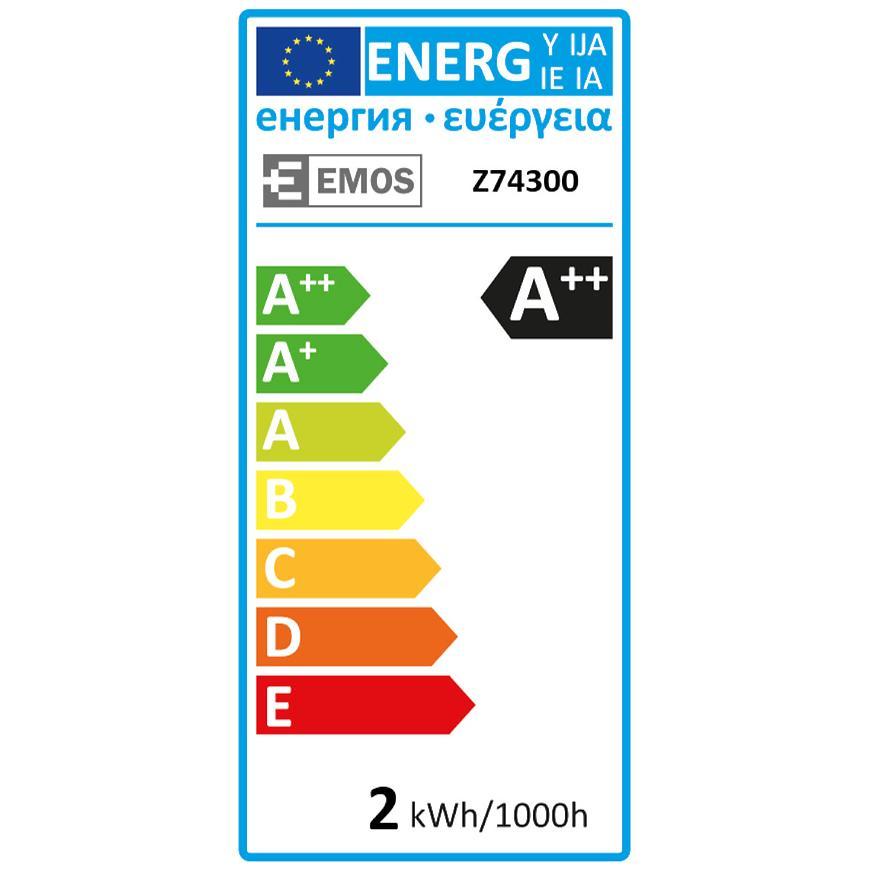 Žárovka LED VNT CANDLE 2W E14 WW+ Z74300