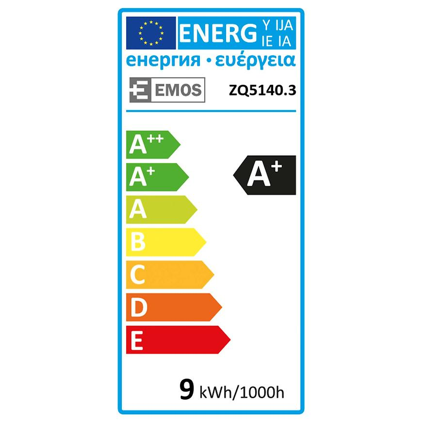 Žárovka LED 3x CLS A60 9W E27 WW 3PC ZQ5140.3