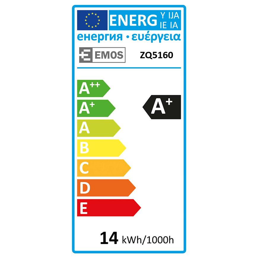 Žárovka LED CLS A60 14W E27 WW ZQ5160