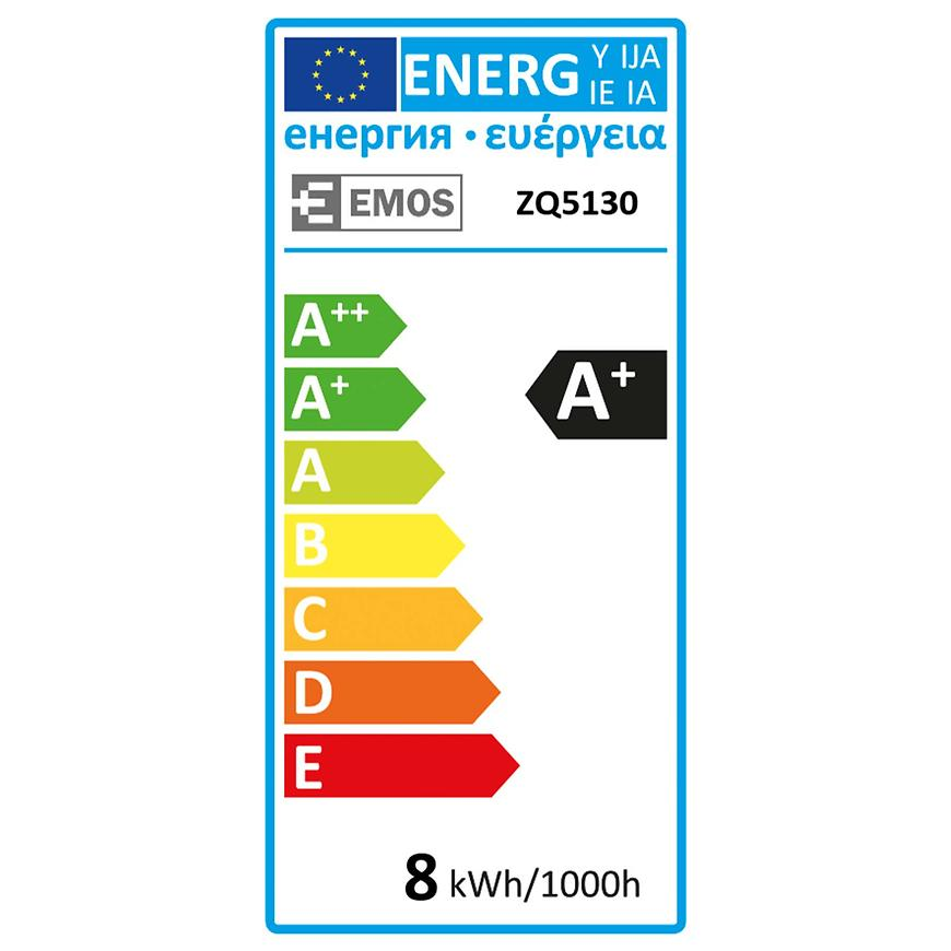 Žárovka LED CLS A60 8W E27 WW ZQ5130