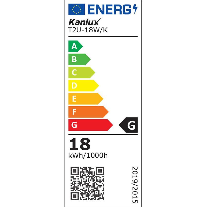 Zářivka T2u-18w/K 10661