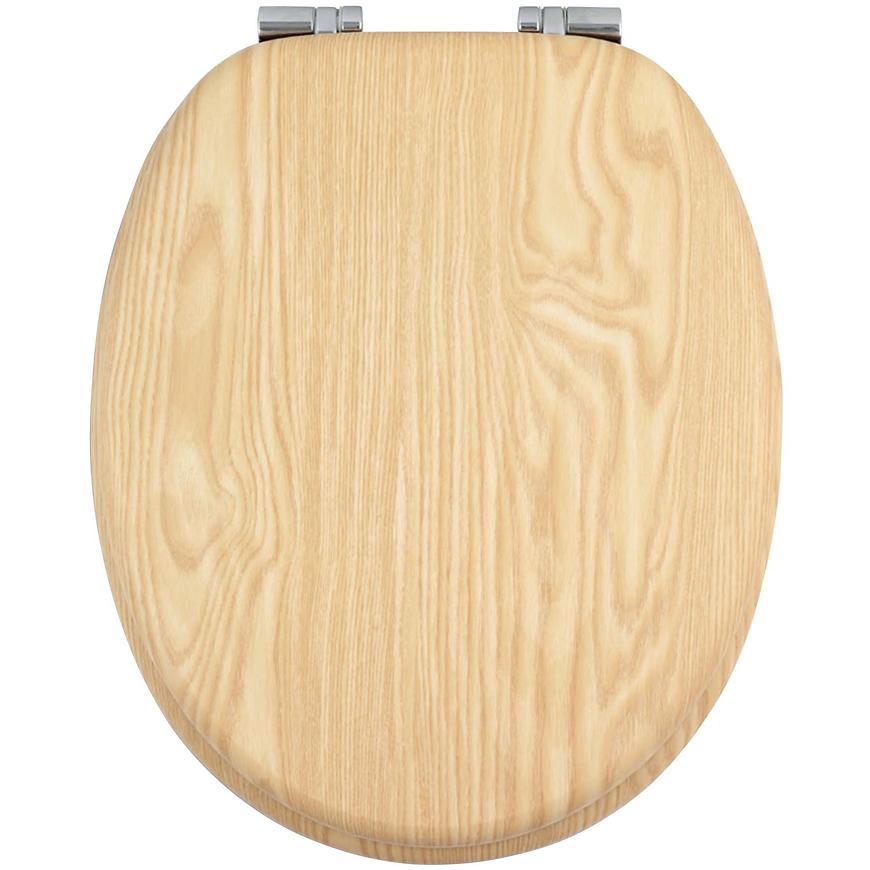 Sedátko dýhované dřevo WC/JASAN