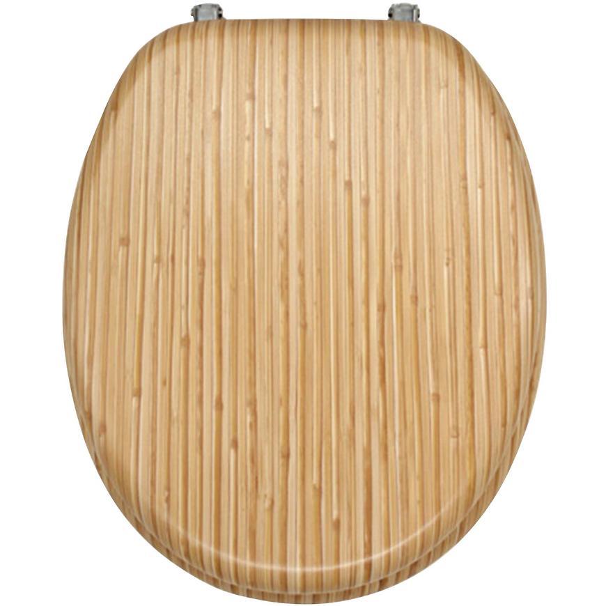 Sedátko dýhované dřevo WC/BAMBUS