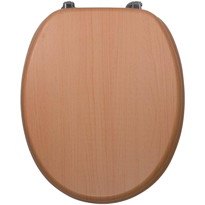 Sedátko dýhované dřevo WC/BUK