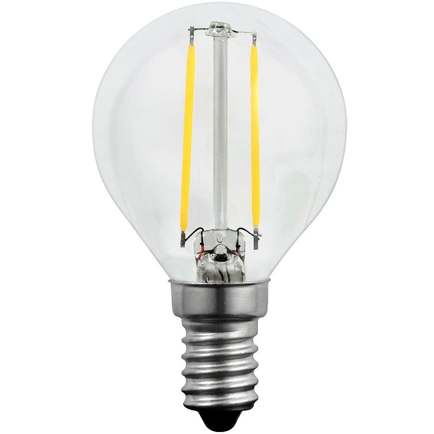 Žárovka LED FILAMENT MAX2W G45 E14 230LM