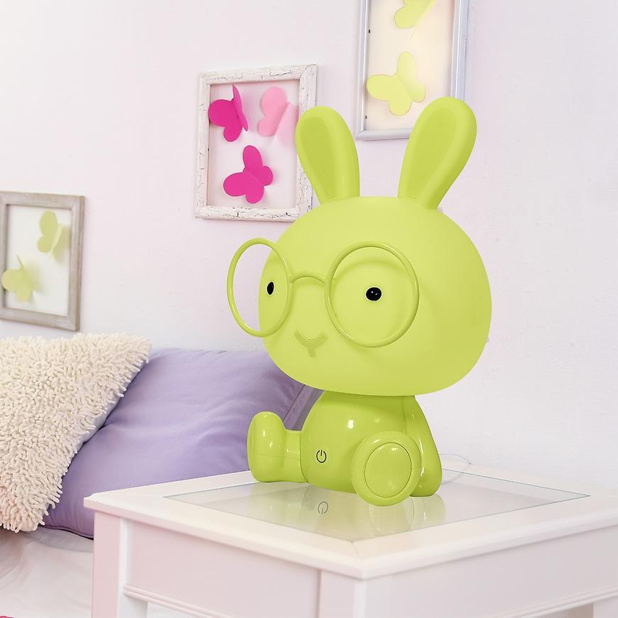 Stolní lampa Králík LED 308801 LB1 zelená