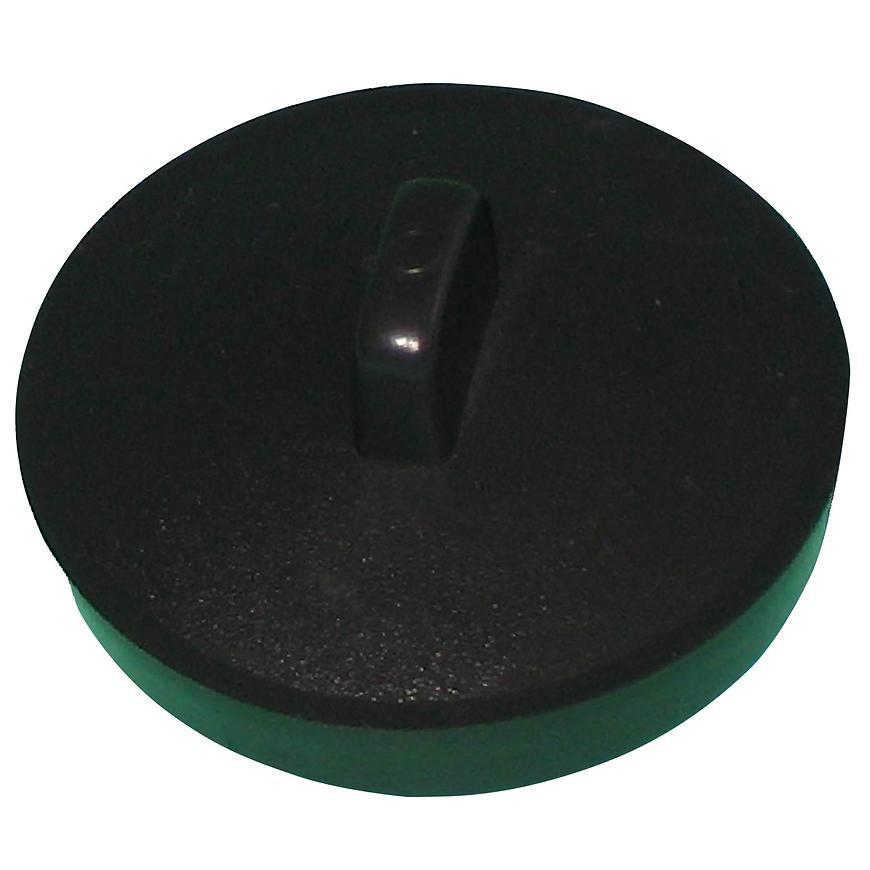 Zátka pro dřez černá kor007