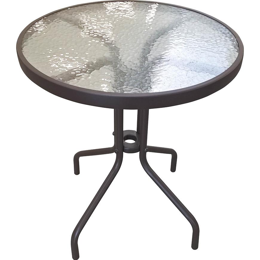 Stůl Bistro technorattan hnedý