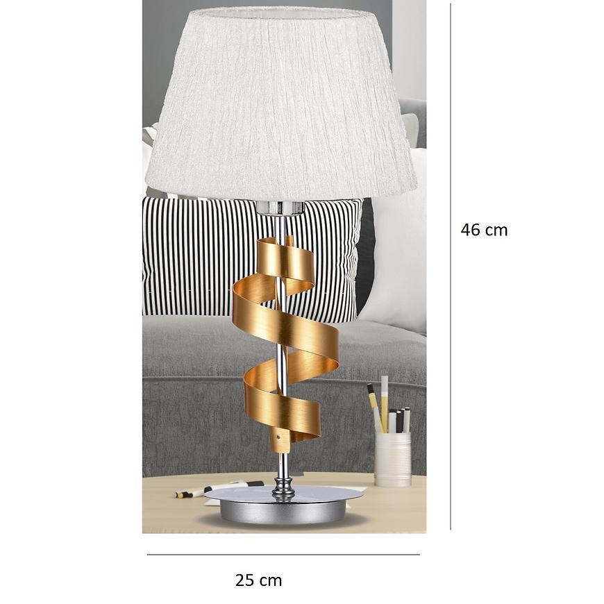 Stolní Lampa Denis 1x60w E27 + stínidlo